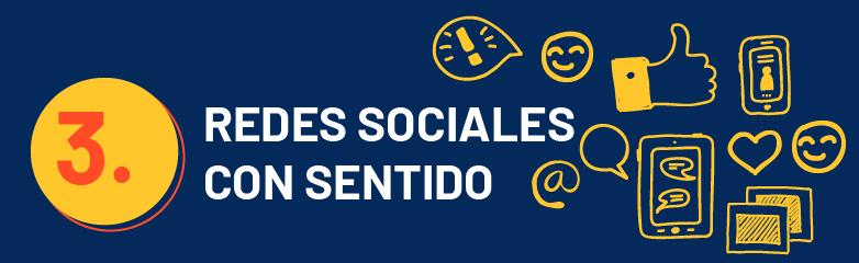 Redes sociales con sentido